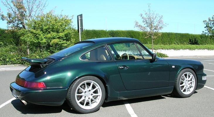 Mein Porsche 964 Seitenansicht