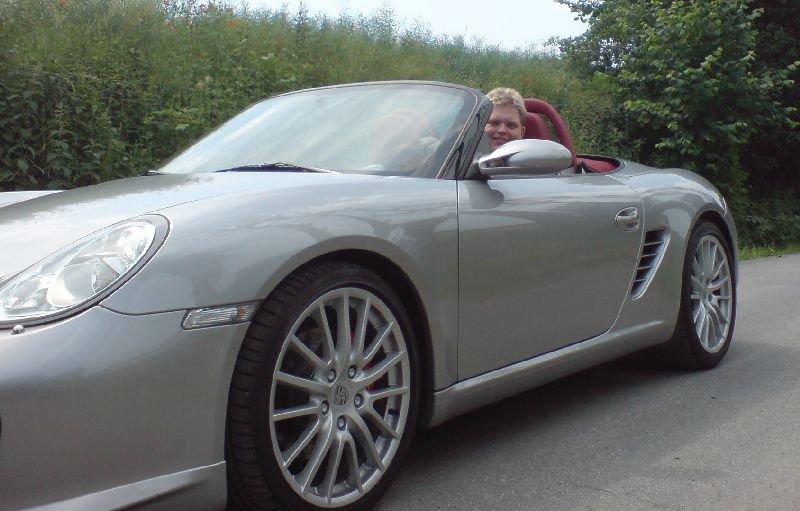 Probefahrt im RS60