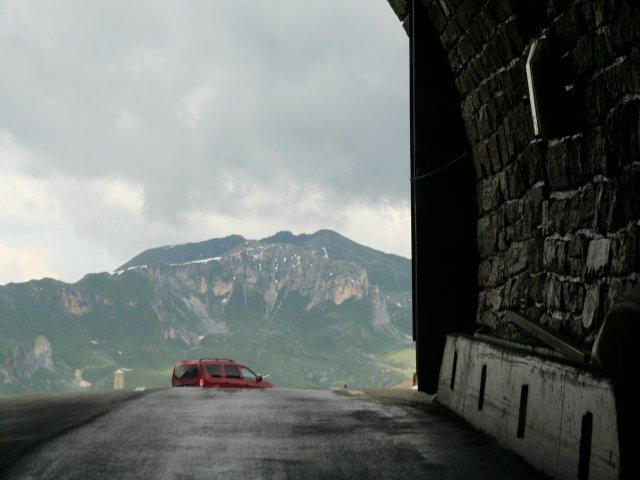 Tunnel am Glockner
