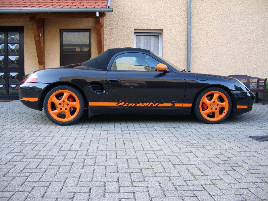 986S schwarz/orange