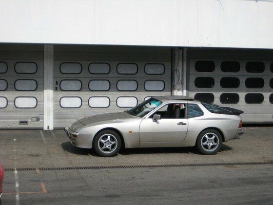 Porsche 944 2.7 Boxengasse Hockenheim
