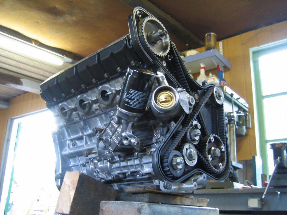 924S Motor rausgeputzt