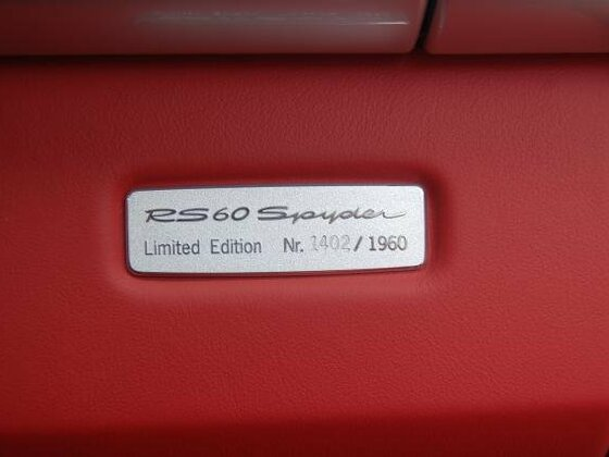 Limitierungsplakette 1402/1960