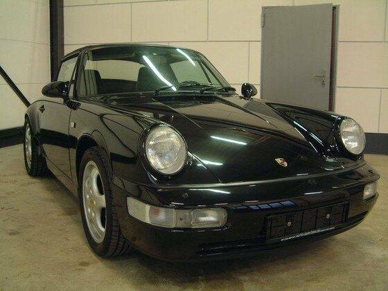 Porsche 911 Modell M BJ 06/1991 Cabrio schwarz Tip