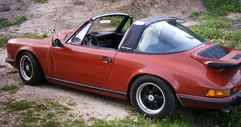 Porsche 911 im Urzustand