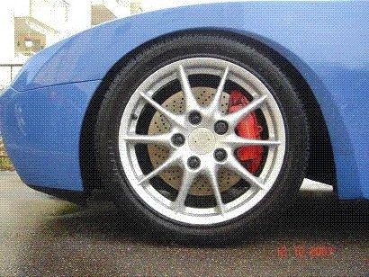 996 Turbo Bremse in 944S2 Vorderachse
