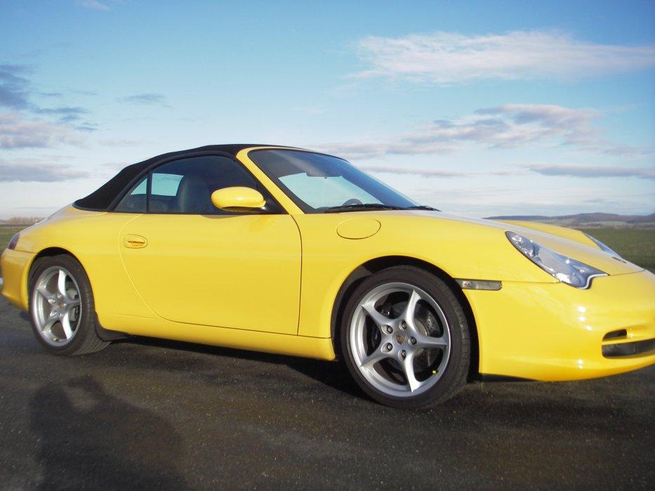996 Cabrio FL gelb