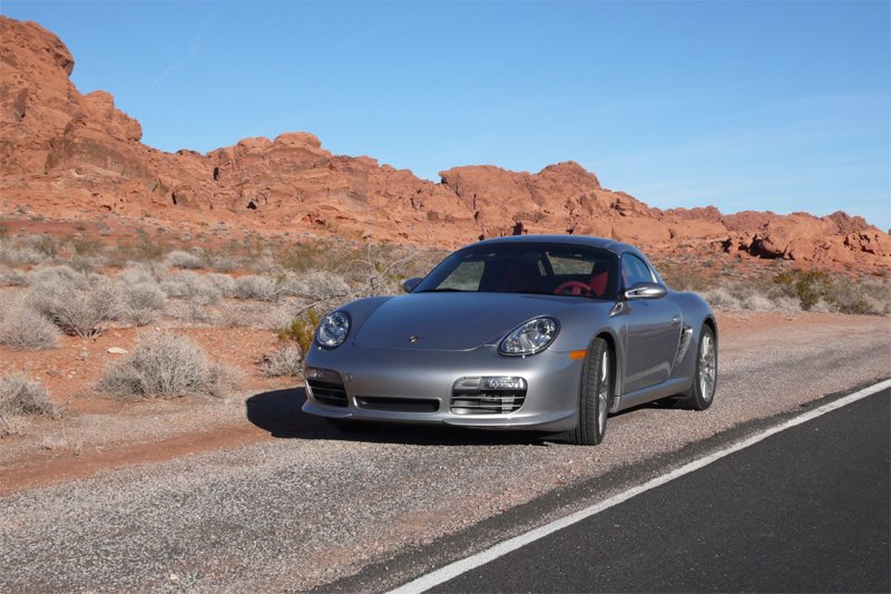 Boxster RS 60 Spyder im Valley of Fire