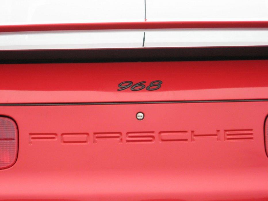 Porsche 968 -rot-