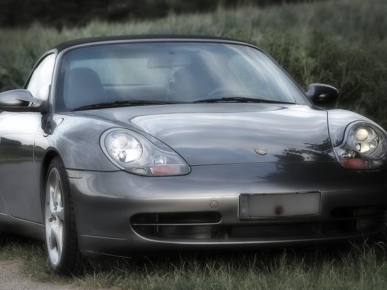 996 Cabrio C2 mit 997er Spiegeln