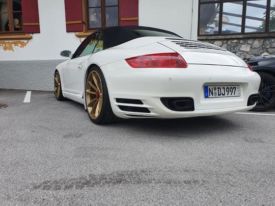 Porsche 997 turbo wingless GT3 ZV Felgen