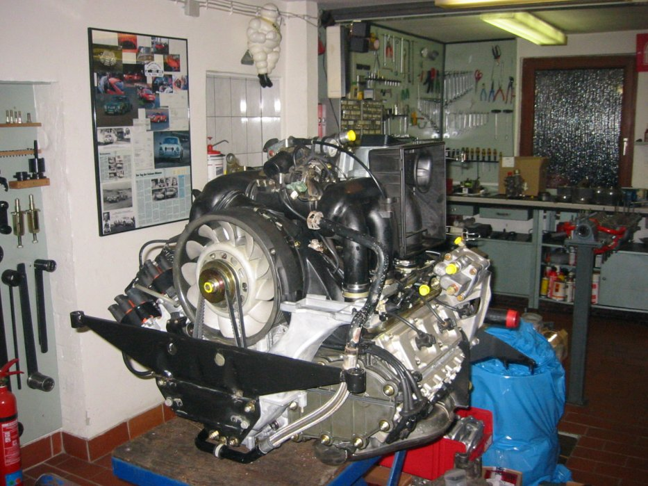 Motor einbaufertig