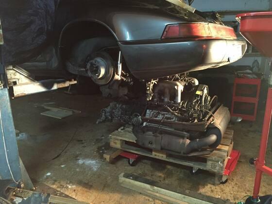 Motor und Innereien von 3,6 auf 4,0l Turbo