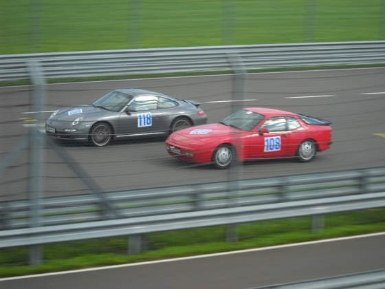 Mein 944S2 beim Porsche Club Cub 2010 Leipzig