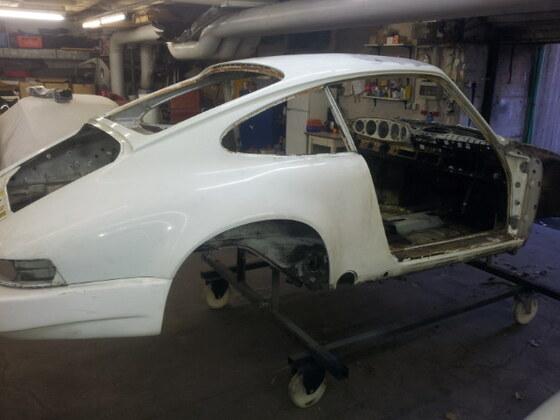 86er Carrera Motorsportprojekt