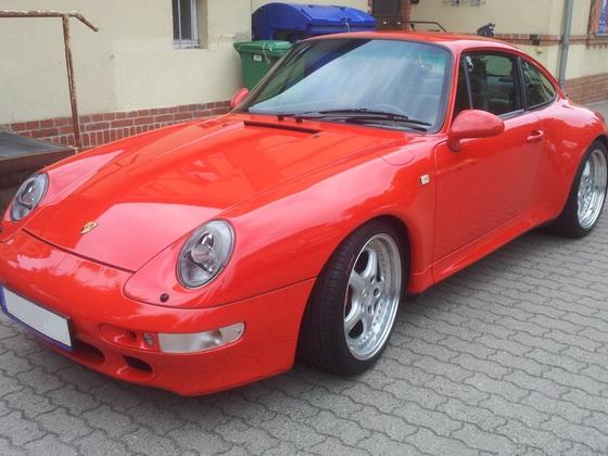 993 4S mit Speedline