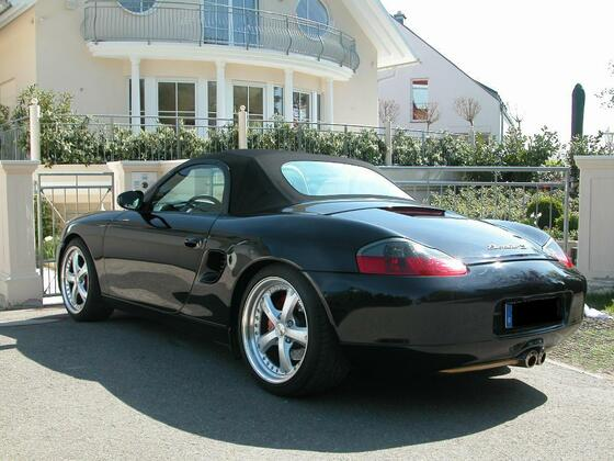 2nd: Boxster S
