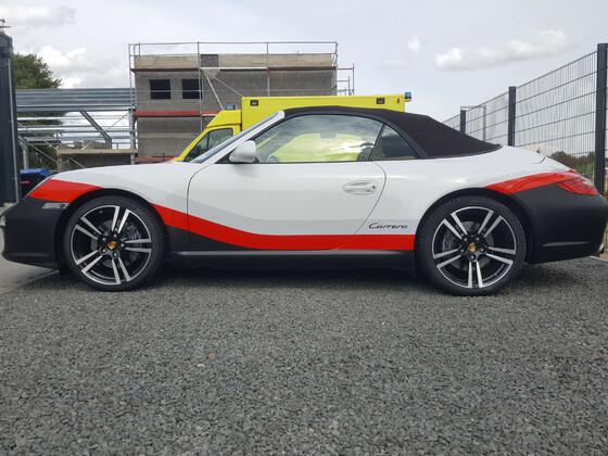 Porsche 911 997 Cabrio FIA WEC GT PRO Werkslackierung vom Porsche 911 GT3 RSR