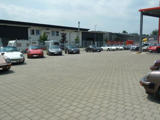 Club für den klassischen 911 Süd West bei Carblast