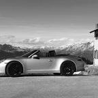 991 GTS am Jaufenpass