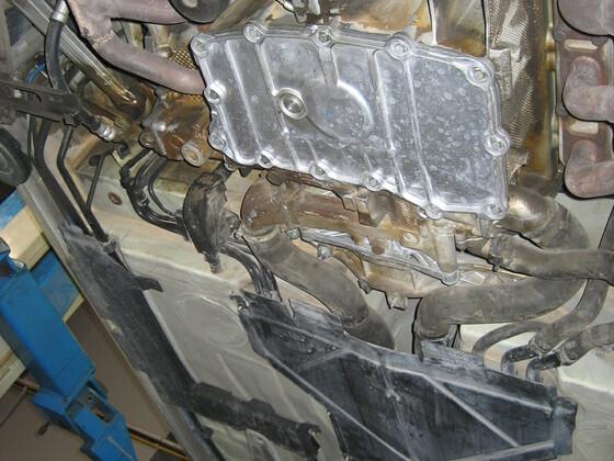 Boxster Beseitigung Ölleckage