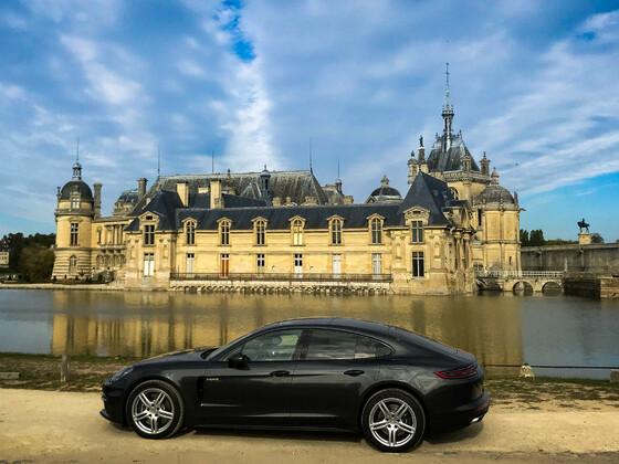 Ausfahrt Chateau de Chantilly