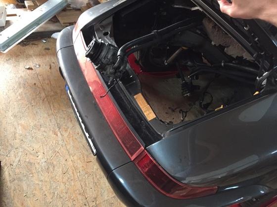 Porsche 964 4l Turbo Umbau