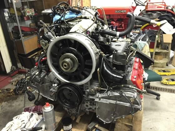 Motor wieder perfekt... Zusammenbau durch mich :-)