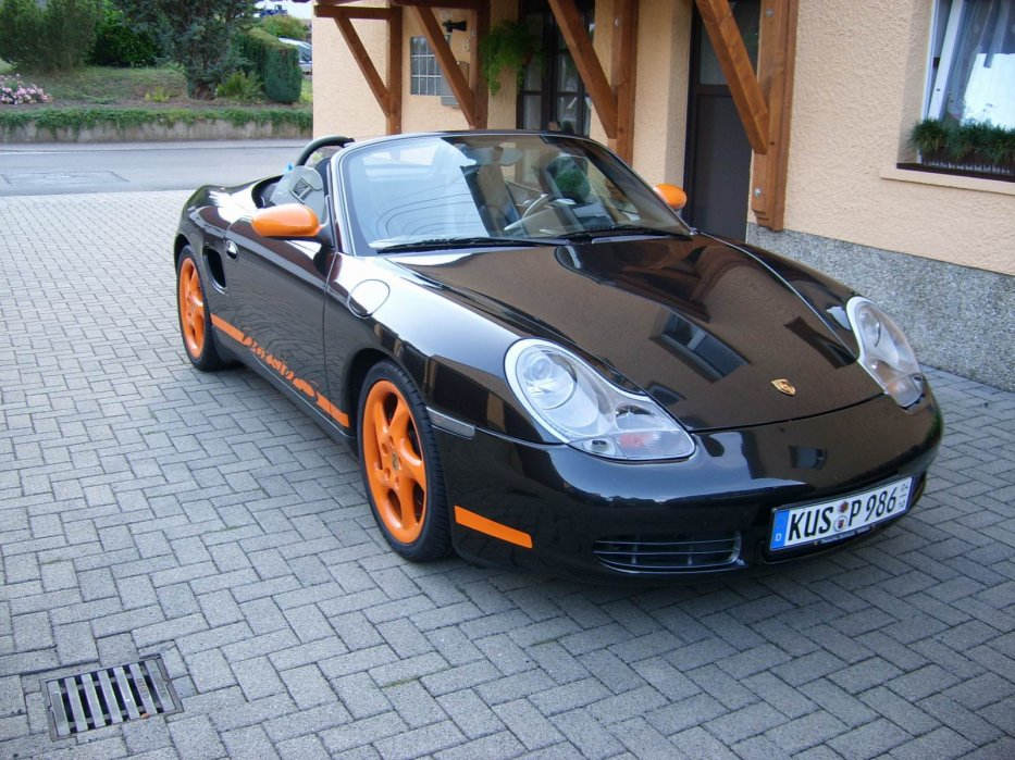 Boxster 986 S offen