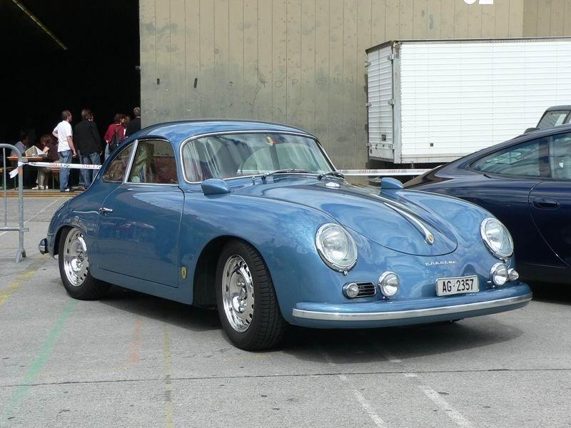 Porsche 356 GT in Blau