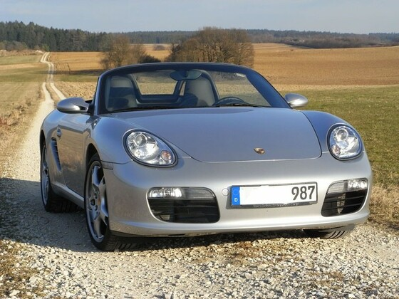Mein erster: Boxster 987 in silber