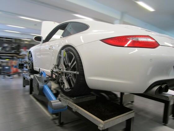 Porsche Carrera 997 mit Öhlins Road&Track