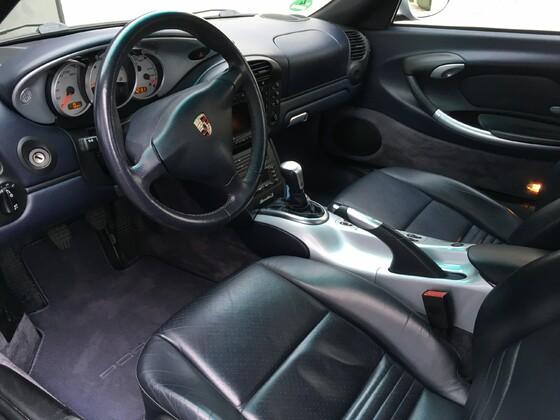 Mitttelkonsole lackiert Porsche Boxster 986