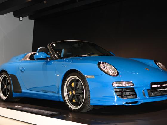 Porsche Speedster im Porsche Museum