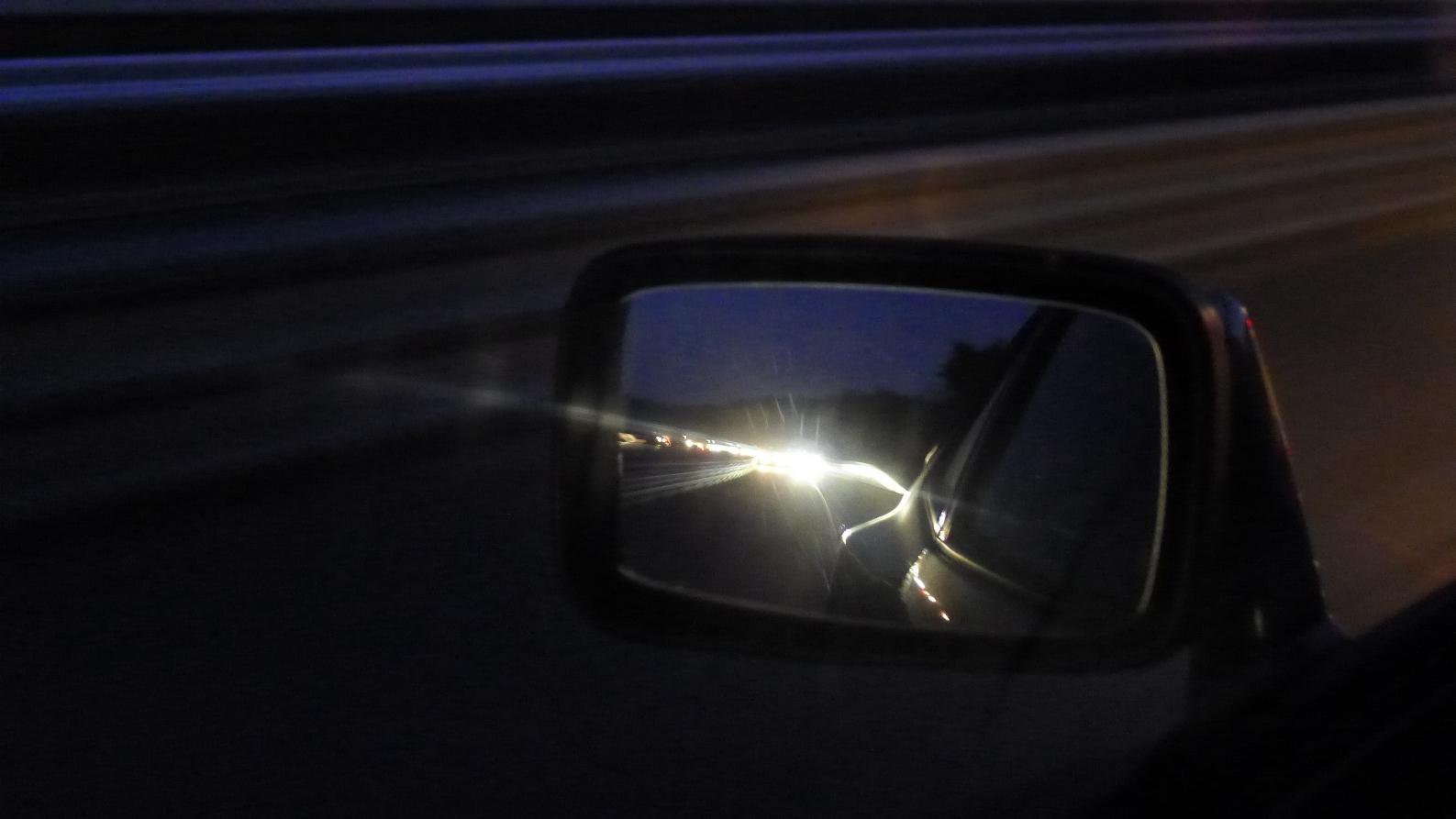 944er in Richtung Sonnenuntergang