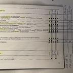 April 2021 - Auszug aus der gebastelten Servicecheckliste