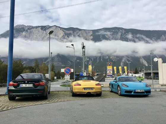 November 2019 Saisonabschlusstour - Tag 1 (Eingang Ötztal)
