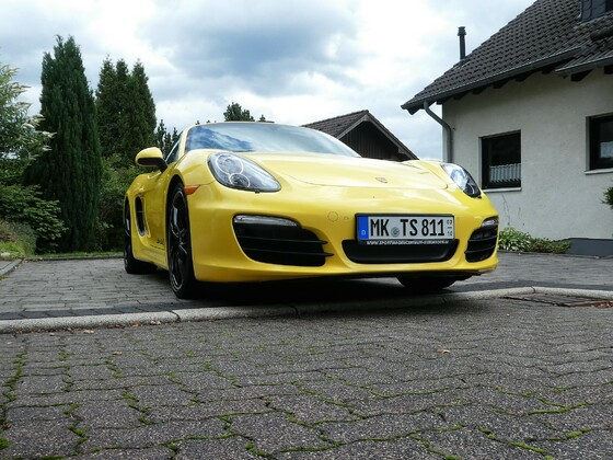 Boxster 981 S, gelb