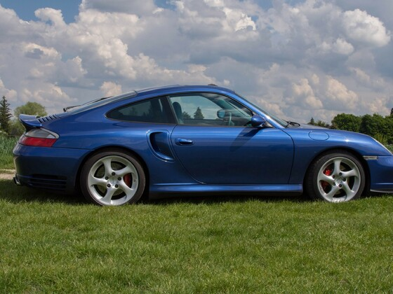 911 Turbo 996 Coupe