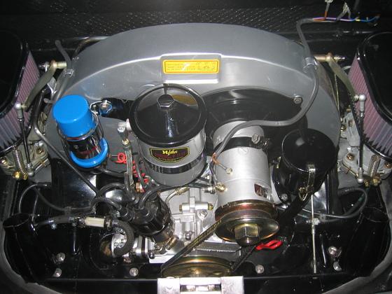 Motor eingebaut