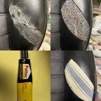 Mai 2021 - Fahrersitz Kunstlederwange erneuert