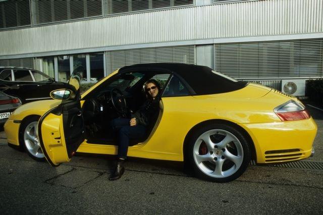 Gelbes 996 Cabriolet