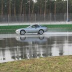 Porsche 944 beim Driften