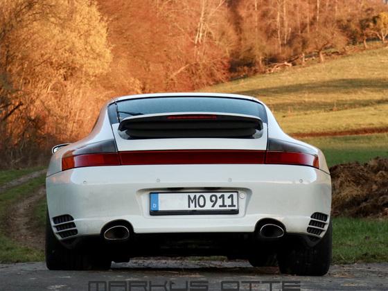 996 4S  von hinten