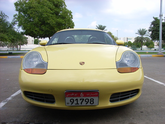 Boxster Frontansicht Hardtop