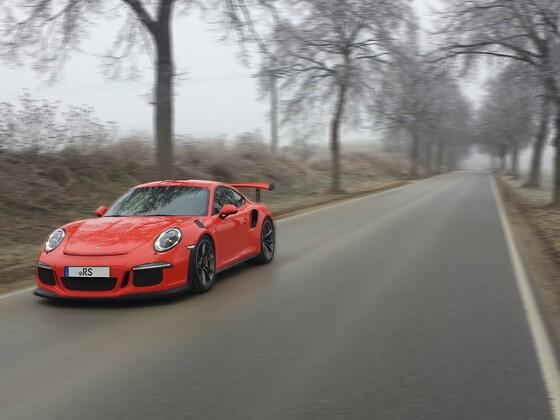 Porsche GT3 RS Landschaft