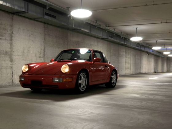 964 Targa in der Garage