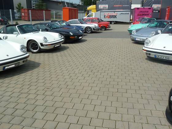 Club für den klassischen 911 Süd West bei Carblast_2