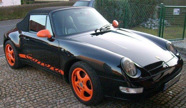 993 schwarz orange