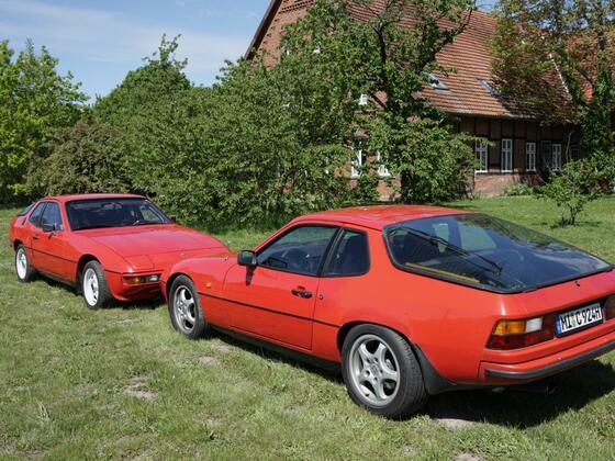 Porsche 924  und 924 S